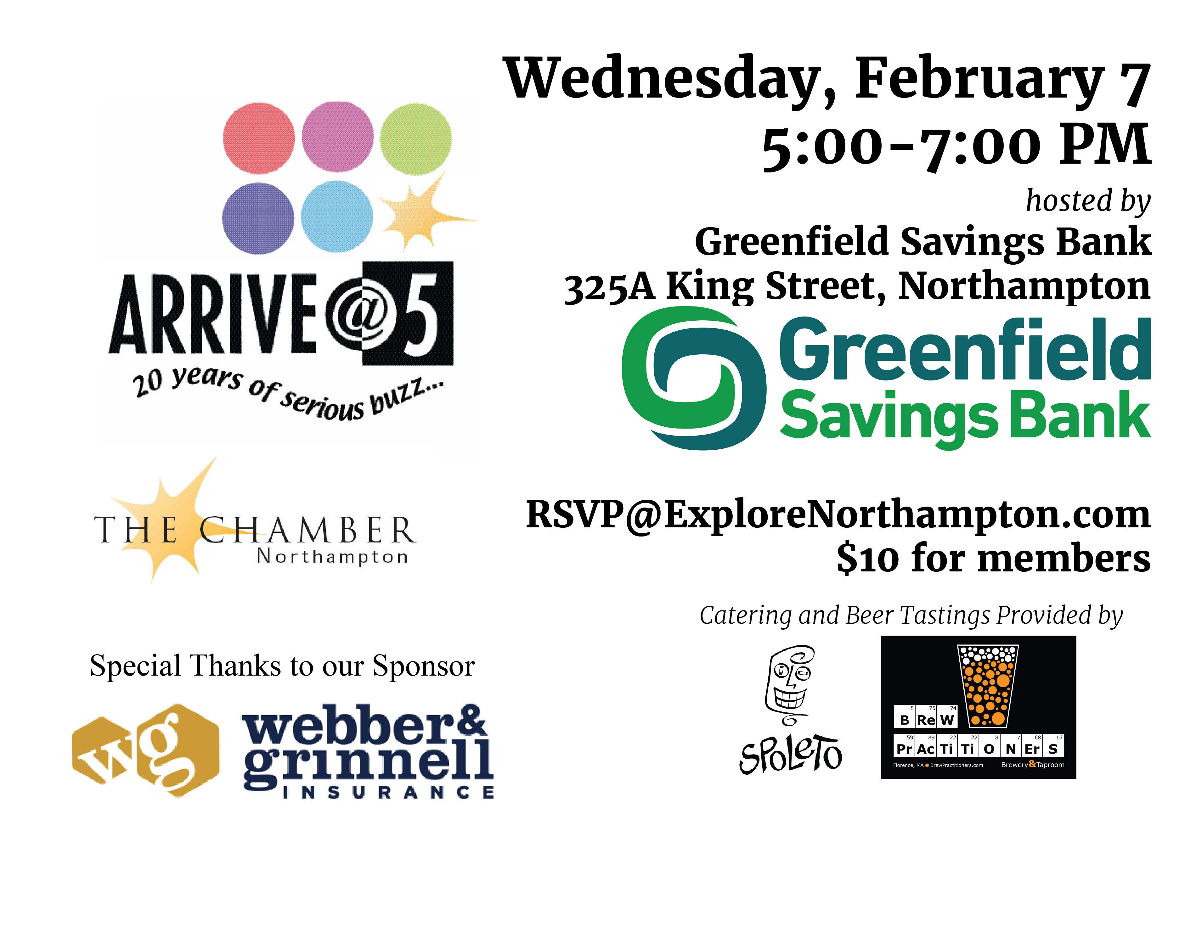 February- GSB with brewery logos and sponsors